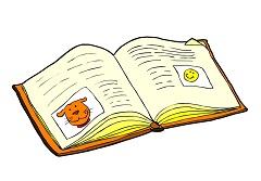 Dessin D Un Livre cascades d'écriture - office central de la coopération à l'École du nord